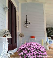 decorating our victorian porch for i used mason jars with tea lightade