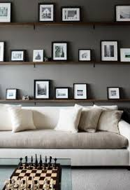 pictures with white matts atlanta homes gardens dark gray office white two toned sectional chess board floating picture shelves cococozy