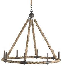 nautical rope chandelier and company bowline 8 light chandelier nautical rope and bronze square chandelier