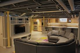 unfinished basement ceiling. Interesting Unfinished Perfect Unfinished Basement Ceiling Ideas 5 To A