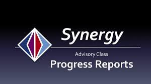 synergy print progress reports for advisory
