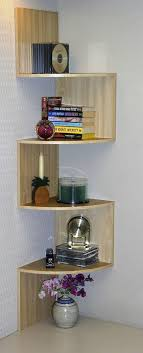 corner furniture designs. Corner Spacesaver Bookcase - Curved Shelves Add Interest. Maybe In My Kitchen? I Have Furniture Designs
