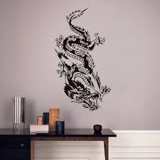 orient dragon wall sticker mythology vinyl decal chinese style long inspiration of dragon wall decals