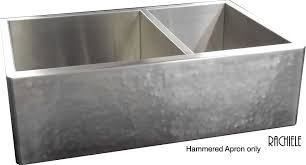 stainless steel double bowl hammered sink