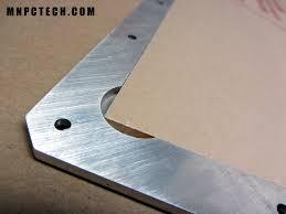 1 8 aluminum sheet billet pc case window kit silver