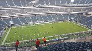 seat view for lincoln financial field section 243