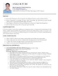 Ankur Puri Resume