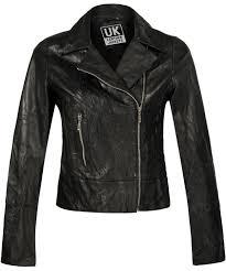 black women s l asymmetric xion sizes 8 to 14 np397 women end of line leather jacket