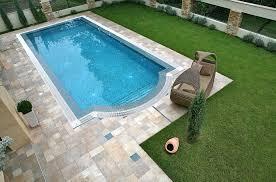 Modern Yard with Pool