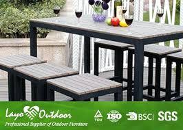 faux wood patio table elegant faux wood outdoor dining set wood outdoor furniture faux wood patio