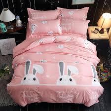 little cow bedding set cartoon animals duvet cover king queen kids bed comforter sets