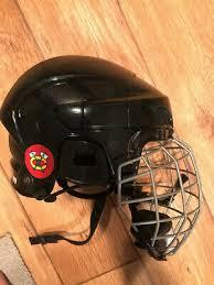 Ccm White Ice Hockey Helmet 6 3 8 6 7 8 Youth Size Small