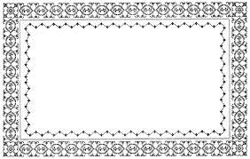 border frame victorian. Victorian Clipart Border Frame O