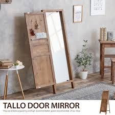 rear view mirror door mirror retro vine old house cafe with hook mirror modern simple nordic