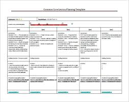 Sample Weekly Lesson Plan Beauteous 48 Lesson Plan Templates Free Sample Example Format Download