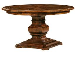 Round Wooden Kitchen Table 3 Pieces Dining Sets In Napoleon Design With Two Wooden Dining