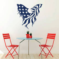 patriotic decals american eagle flag wall decor images of america