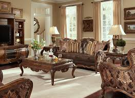 aico living room set. lavelle melange leather and fabric sofa set by aico aico living room c