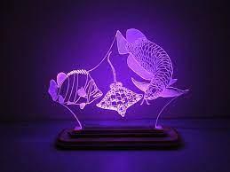 SIÊU RẺ] Đèn Led 3D Mô Hình Bộ 3 Cá Rồng-Cá Hổ-Cá Đuối, Giá siêu rẻ  550,000đ! Mua liền tay! - SaleZone Store