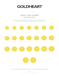 Ring Size Chart Fillable Online Ring Size Chart How To Measure Ring Size