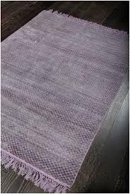rugsville elegant checd purple gray flatweave wool rug 150 x 210