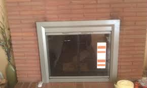 fantastic fireplace glass door replacement about backyards install door best glass replacement glass door home