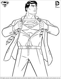 Small Picture Superman Coloring Pages superman colouring pictures Children