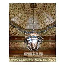 Large Moroccan Pendant Light Large Moroccan Style Pendant Light