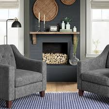 The main living area of your house is where you establish your signature style. Blue Gray Farmhouse Inspired Living Room Collection Target
