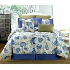 coastal quilts king size beach bedding delectably blue reef comforter or duvet bed set by victor