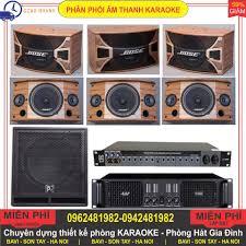 Thanh lý dàn karaoke gia đình gồm 3 cặp 6 Loa BOSE A800 ME + 1 SUB Trầm + 1  Cục đẩy công suất + 1 Vang cơ chính hãng 14,000,000đ