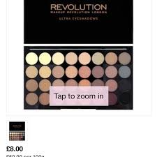 makeup revolution flawless matte 32 eyeshadow palette health beauty makeup on carousell