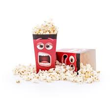 Decorative Popcorn Boxes Fun Movie Face Popcorn Box Pack of 60 Popcorn Boxes 44