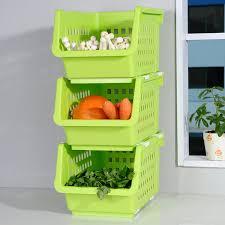 bao youni kitchen rack kitchen supplies seasoning storage rack fruit and vegetable fruit rack 3 pack