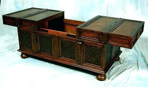 coffee table with sliding top storage lift top trunk coffee table blank storage tables sliding with