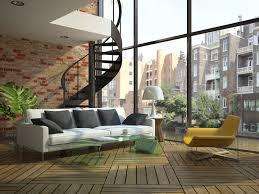 Fotos Wohnzimmer Modern Loft Stiege 3d Grafik Innenarchitektur Sofa