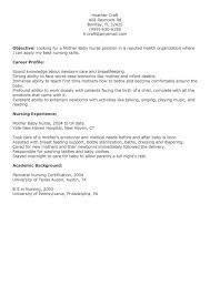 resume for nurses samples