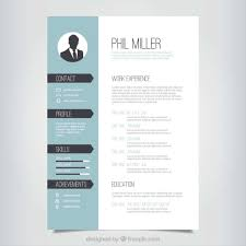 Best Color For Resume 173487 10 Top Free Resume Templates