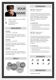 Powerpoint Resume Template Best Of Fitzroy Border PowerPoint Resume Template