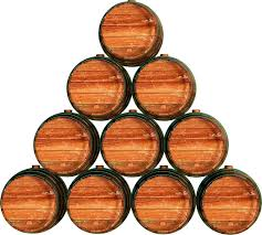 stack wine barrels. Barrels Clipart: Stack Wine