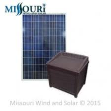 pond aeration kits missouri wind and solar pond aeration box w suntaqe inverter charger 100 watt solar panel