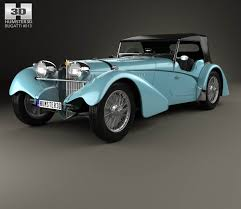 Bugatti 57SC Sports Tourer 1937 3D model - Hum3D