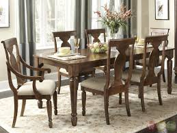 Furniture: Dining Room Sets With Bench Unique Rustic Cherry Rectangular  Table Formal Dining Room Set