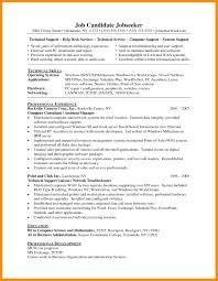 Resume Format For Desktop Support Engineer Desktop Support Engineer Resume Doc Cv Format Senior Sample Download