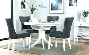 dining furniture sets round white extending table with 4 and chairs ikea e