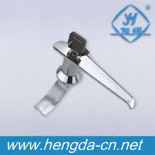 cabinet door metal key l shaped handle locks yh3011