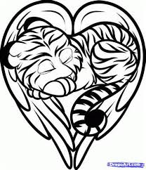 Easy Tiger Tattoo Coloring Pages Dragons Coloring Pages Tiger