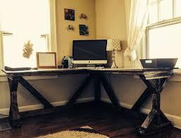 incredible diy corner desk using ana white fancy x desk plan perfect with a inside white desk ideas