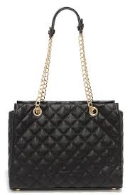 Chic Black Handbag - Quilted Purse - Vegan Leather Purse - $53.00 &  Adamdwight.com