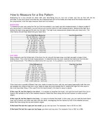 Foam Fill Chart Bra Size Measurement Chart Edit Fill Sign Online Handypdf